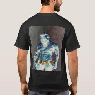 Camiseta T-shirt estéticos de Adonis da malhação dos homens