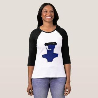"Camiseta T-Shirt estilo Basebol - ""ora Nah! """