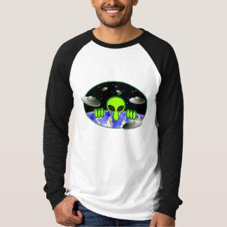 Camiseta T-shirt estrangeiro de Kilroy