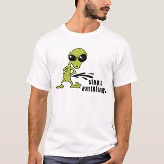 Camiseta T-shirt estrangeiro engraçado