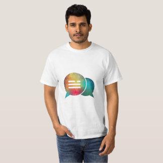 Camiseta T-shirt estratégico do bate-papo da consulta