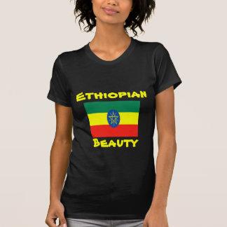 Camiseta T-shirt etíopes da beleza