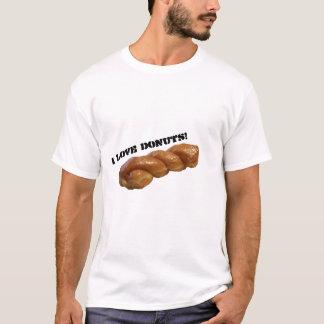 """Camiseta T-shirt """"eu amo rosquinhas """""""