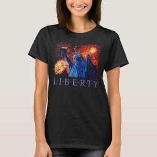 Camiseta T-shirt EUA New York da estátua da liberdade
