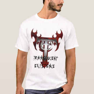 Camiseta t-shirt, EXISTÊNCIA TRANSLÚCIDA