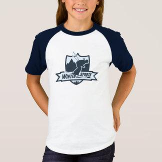 Camiseta T-shirt exterior da recreação do inverno dos