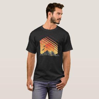 Camiseta T-shirt exterior da vida dos homens