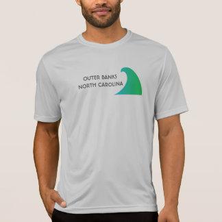 Camiseta T-shirt exterior de North Carolina dos bancos
