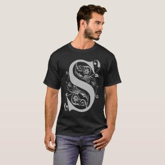 Camiseta T-shirt extravagante da tipografia de S