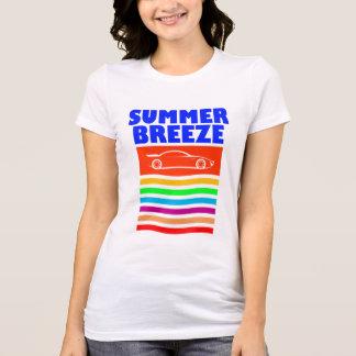 Camiseta T-shirt favorito do jérsei da brisa do verão