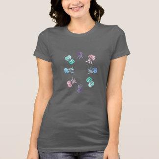 Camiseta T-shirt favorito do jérsei das mulheres das medusa