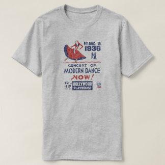Camiseta T-shirt federal retro do projeto do teatro do
