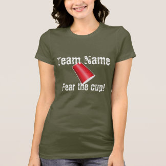 Camiseta T-shirt feito sob encomenda da equipe do copo do