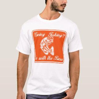 Camiseta T-shirt feito sob encomenda da pesca da perda dos