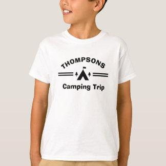Camiseta T-shirt feito sob encomenda da viagem de