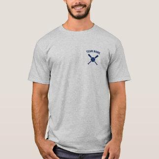 Camiseta T-shirt feito sob encomenda do basebol da equipe