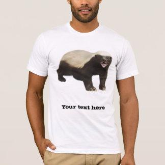 Camiseta T-shirt feito sob encomenda do texugo de mel