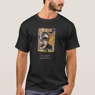 Camiseta T-shirt feito sob encomenda preto com imagem da