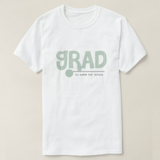 Camiseta T-shirt feitos sob encomenda da graduação do ano &