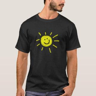 Camiseta T-shirt feliz da luz do sol