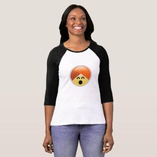 Camiseta T-shirt feliz de Emoji do turbante de Guru da