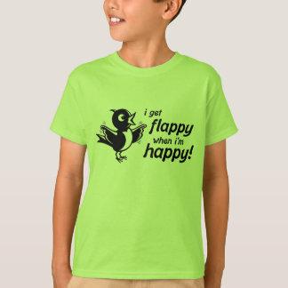 Camiseta T-shirt feliz de Flappy
