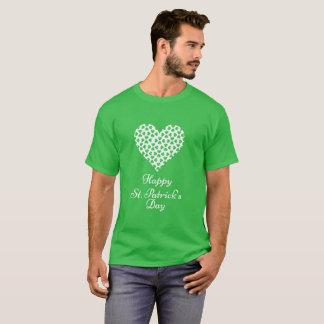 Camiseta T-shirt feliz do dia de Patrick de santo