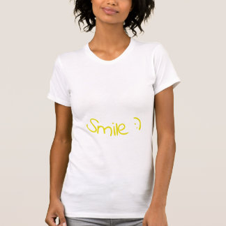 Camiseta T-shirt feliz do smiley face