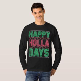 Camiseta T-shirt feliz dos dias do Holla