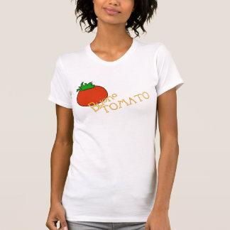 Camiseta T-shirt fêmea 2 do tomate de APH Buono
