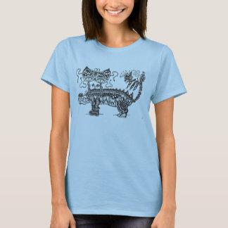 Camiseta T-shirt fêmea da criatura