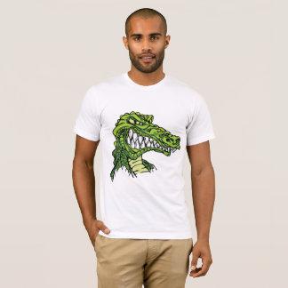 Camiseta T-shirt feroz dos homens do jacaré
