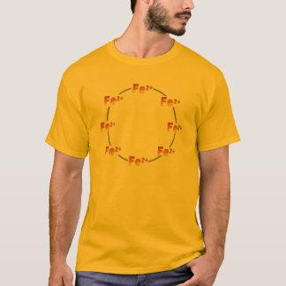 Camiseta T-shirt ferroso da roda
