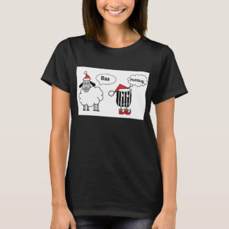 Camiseta T-shirt festivo engraçado da farsa do Baa