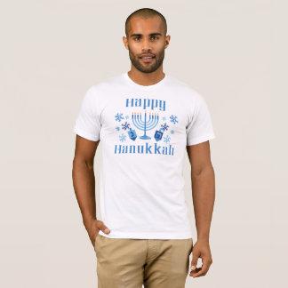 Camiseta T-shirt festivo feliz de Hanukkah