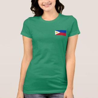 Camiseta T-shirt filipino da bandeira
