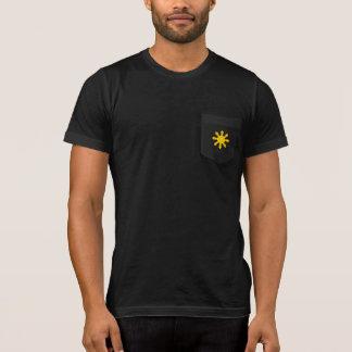 Camiseta T-shirt filipino do bolso da estrela