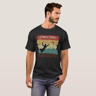 Camiseta T-shirt final do vintage do Frisbee