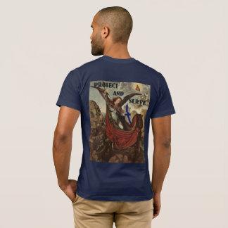 Camiseta T-shirt fino de St Michael Blue Line