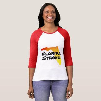 Camiseta T-shirt forte de Irma Florida do furacão