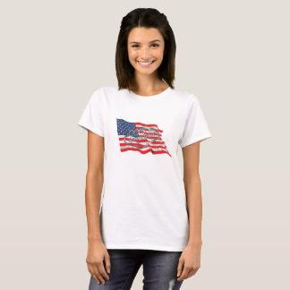 Camiseta T-shirt forte de Vegas para mulheres
