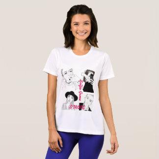 Camiseta T-shirt forte do concorrente do Esporte-Tek do