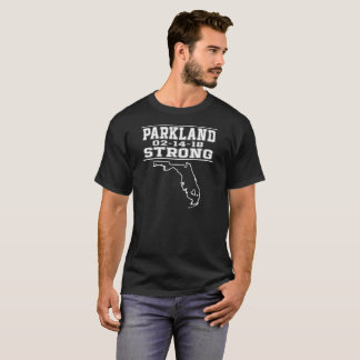 Camiseta T-shirt forte do tiro de escola de Parkland