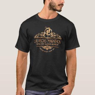 Camiseta T-shirt forte dos corredores da maratona de Las
