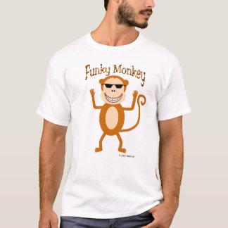 Camiseta T-shirt Funky do macaco