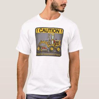 Camiseta T-shirt futuro dos homens do motorista do