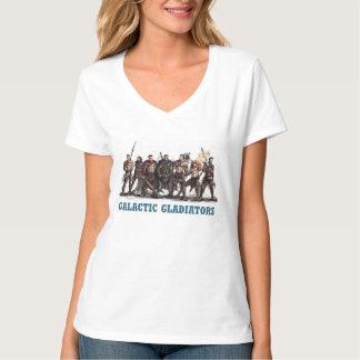 Camiseta T-shirt galáctico dos gladiadores