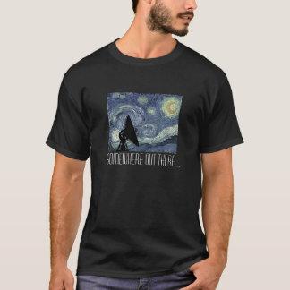 Camiseta T-shirt Geeky da astronomia