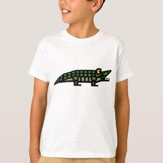 "Camiseta T-shirt ""genuíno"" do jacaré"