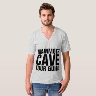 Camiseta T-shirt GIGANTESCOS do GUIA TURÍSTICA da CAVERNA